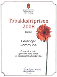 Tobakksfriprisen 2008 - klikk for PDF