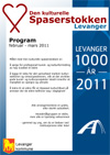 Program for Spaserstokken i Levanger januar-mars 2011 PDF